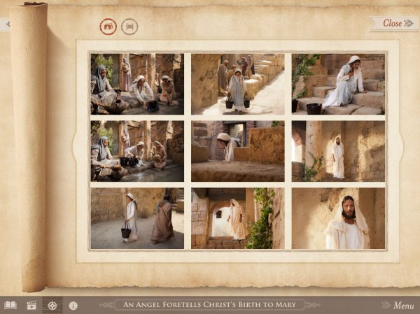 Bible Videos Mobile App - The Life of Jesus Christ - Learn