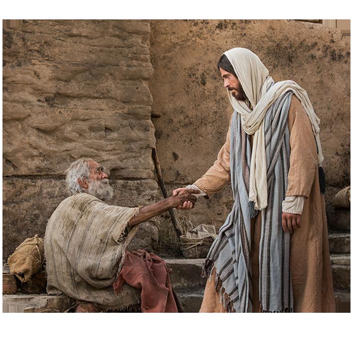 Die Heilung Eines Gelhmten Am Sabbat
