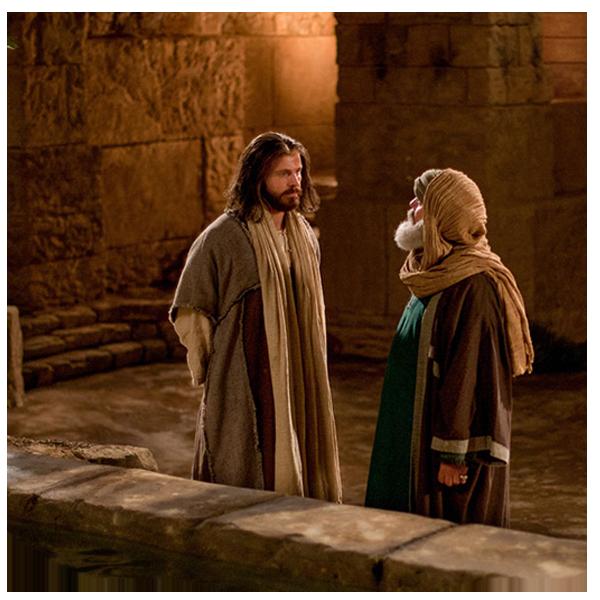 Jesús enseña acerca de nacer de nuevo - Jesús enseña acerca de nacer ...