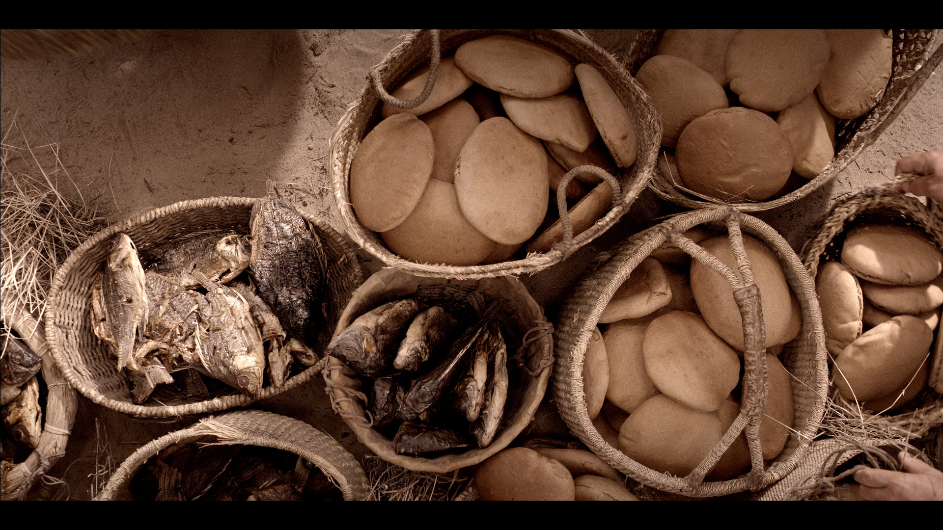 Image result for baskets of bread and fish