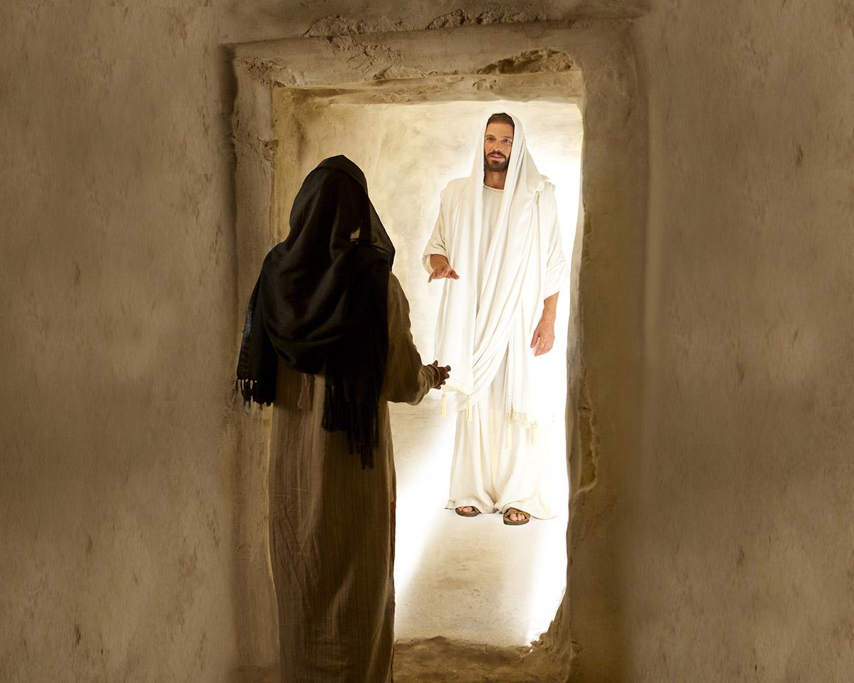 he is risen he is risen