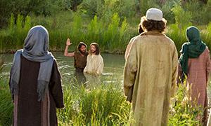 Die Taufe Jesu Die Taufe Jesu