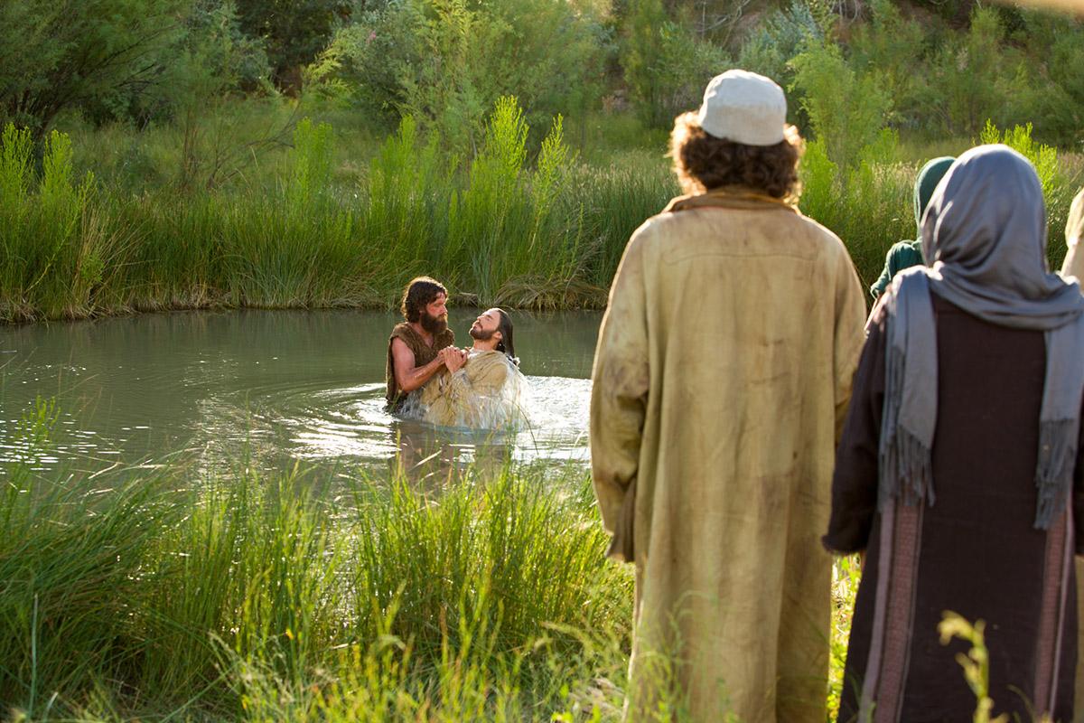 Mayordomo cerca perecer  El bautismo de Jesús - El bautismo de Jesús