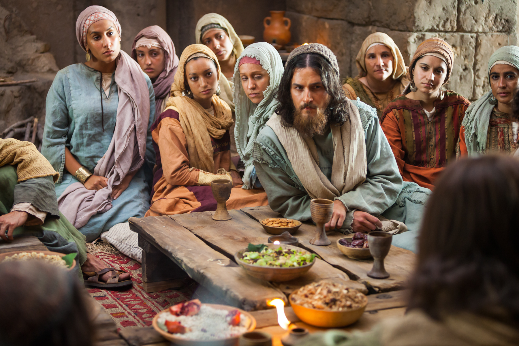 Jesus Declares the Parable of the Wheat and the Tares -