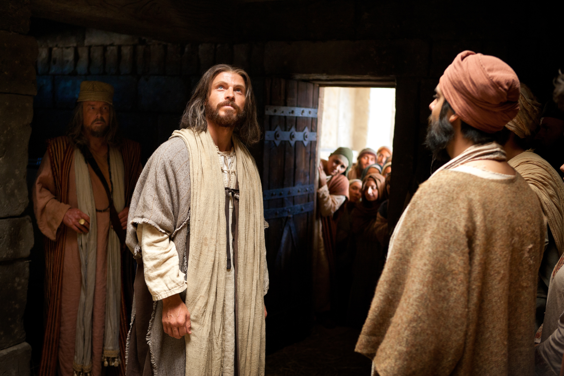 Jesus Forgives Sins and Heals a Man Stricken with Palsy - Jesus Forgives  Sins and Heals a Man Stricken with Palsy