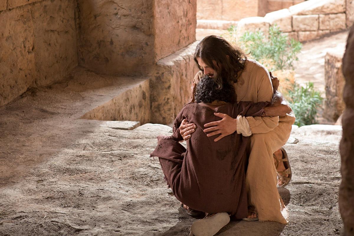 Jesus Heals a Man Born Blind -