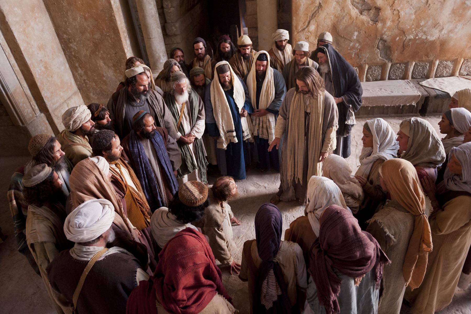 Resultado de imagem para JESUS E ENDEMONIADO