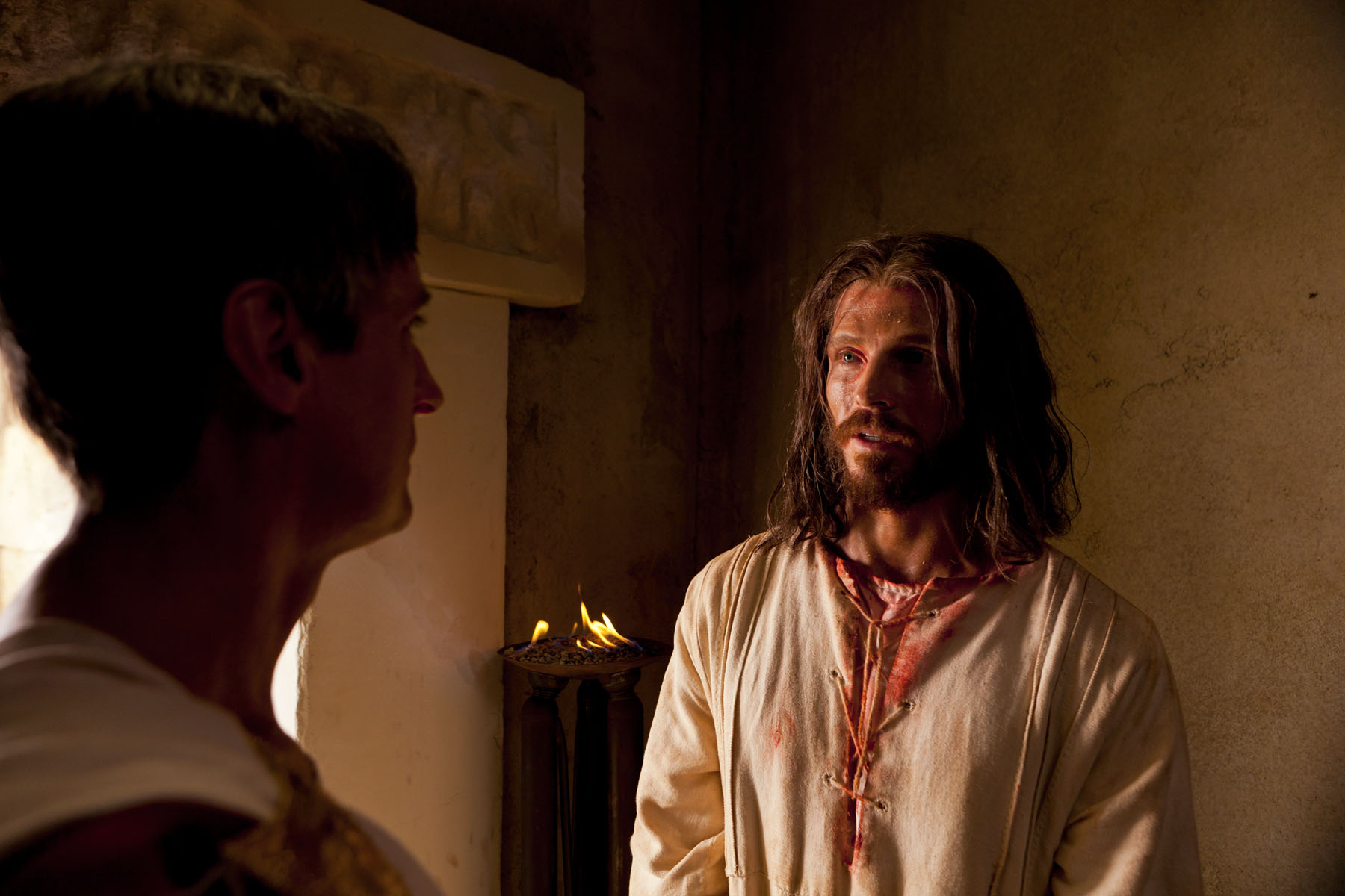 Image result for jesus before pilate