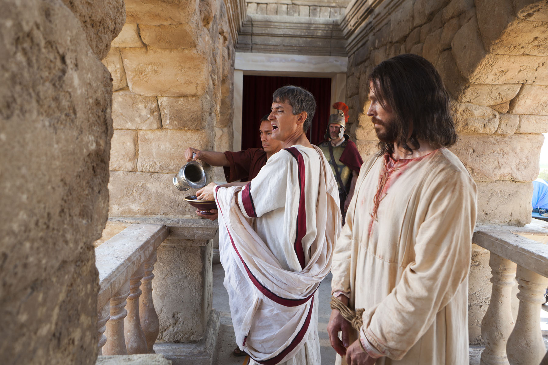Image result for pontius pilate washing his hands