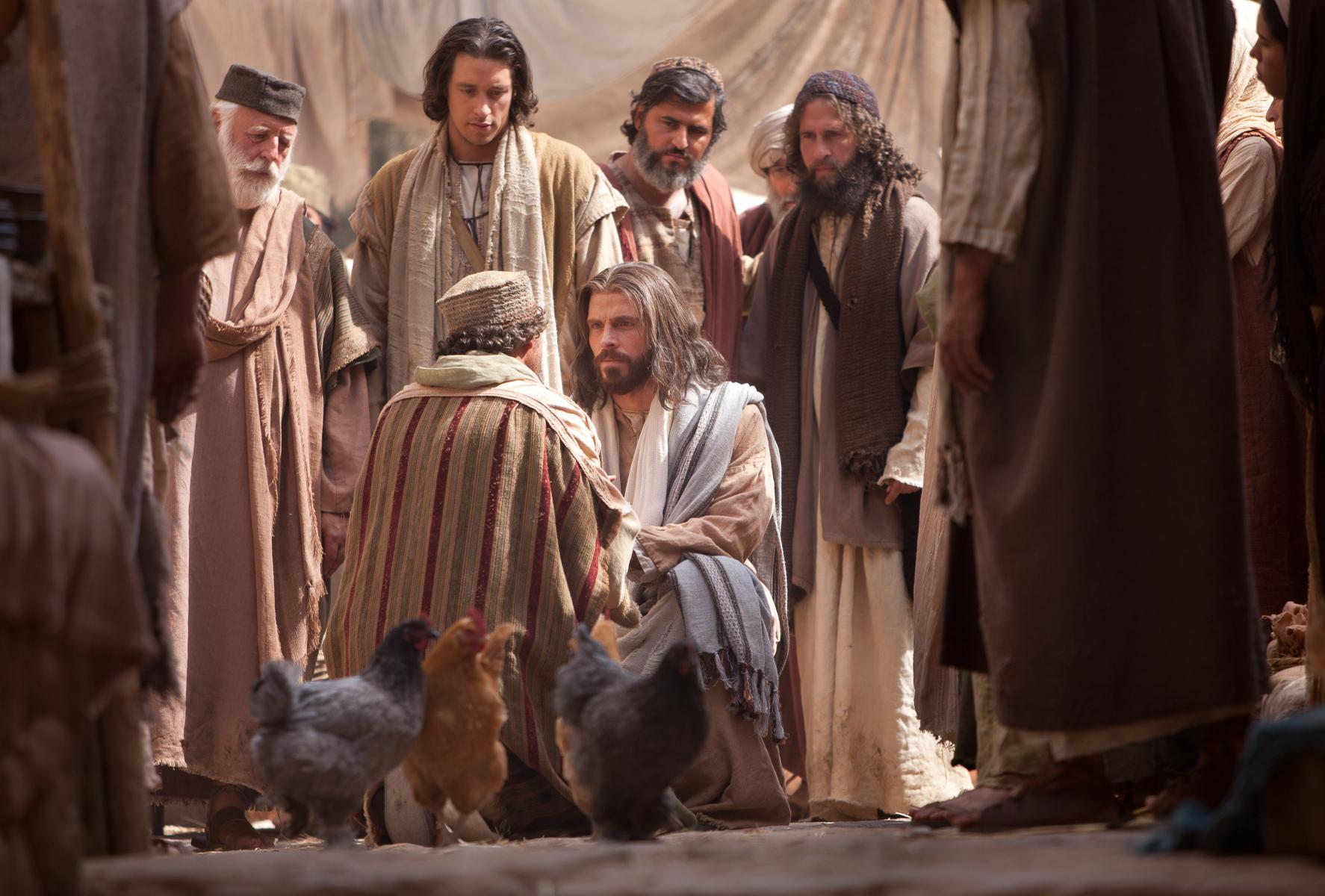 Jesús Resucita A La Hija De Jairo Jesús Levanta A La Hija De Jairo