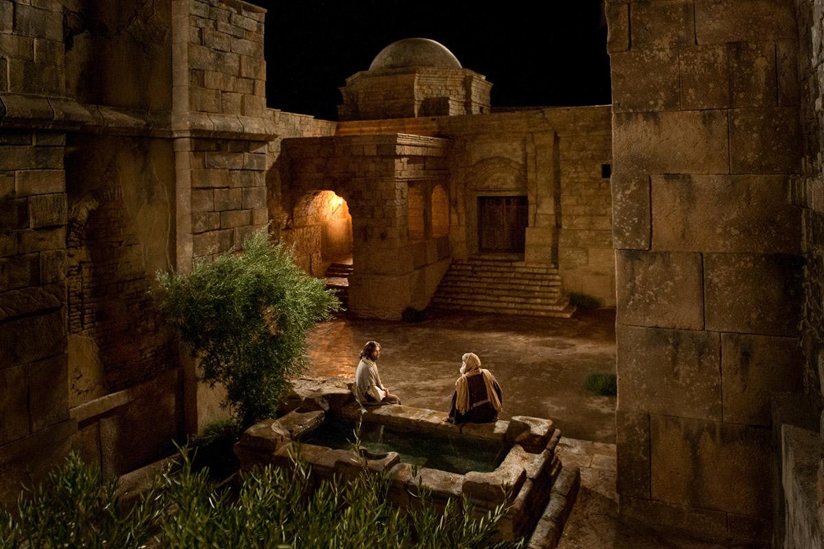 Resultado de imagen para Jesús con Nicodemo