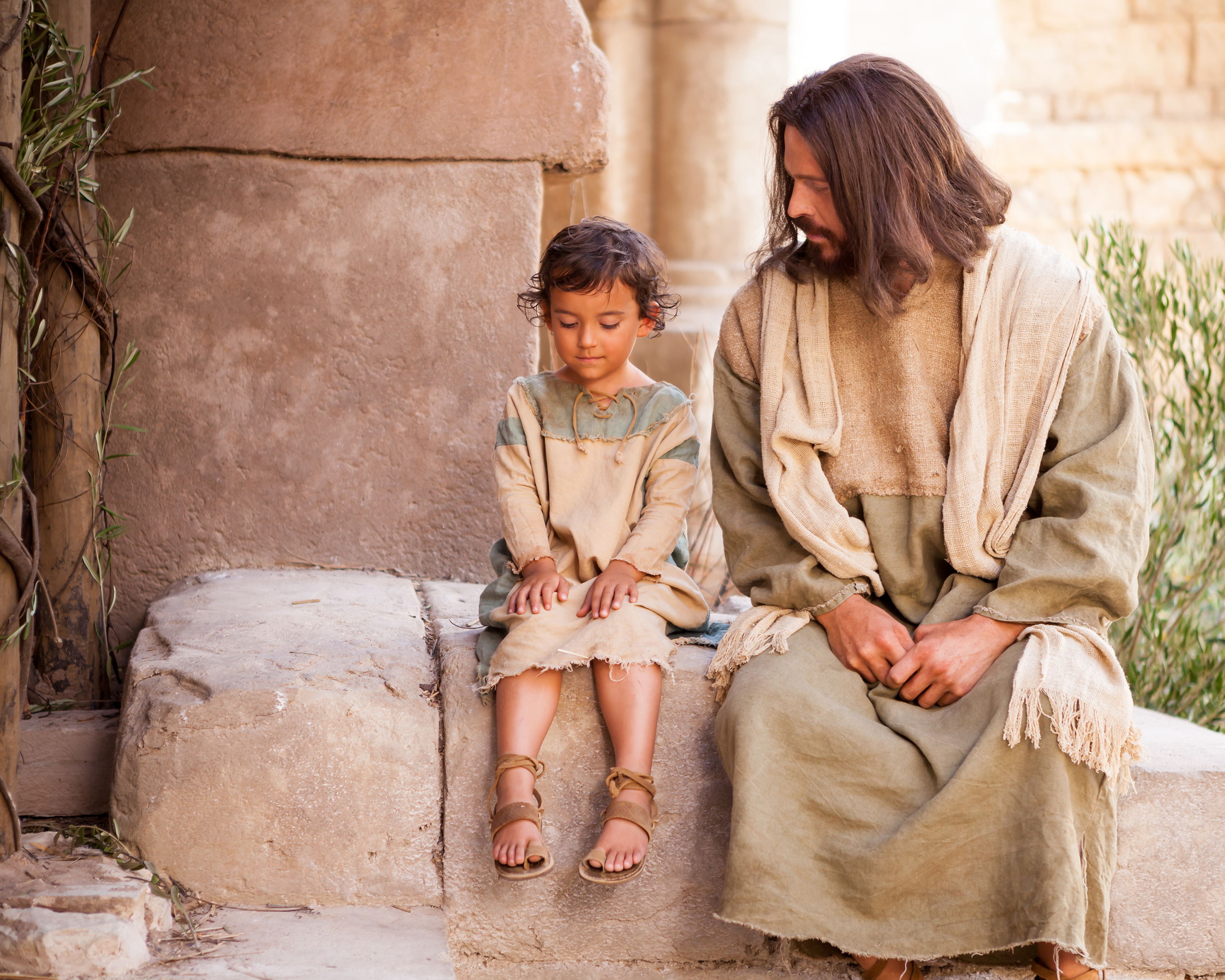 Image result for jesus with kids