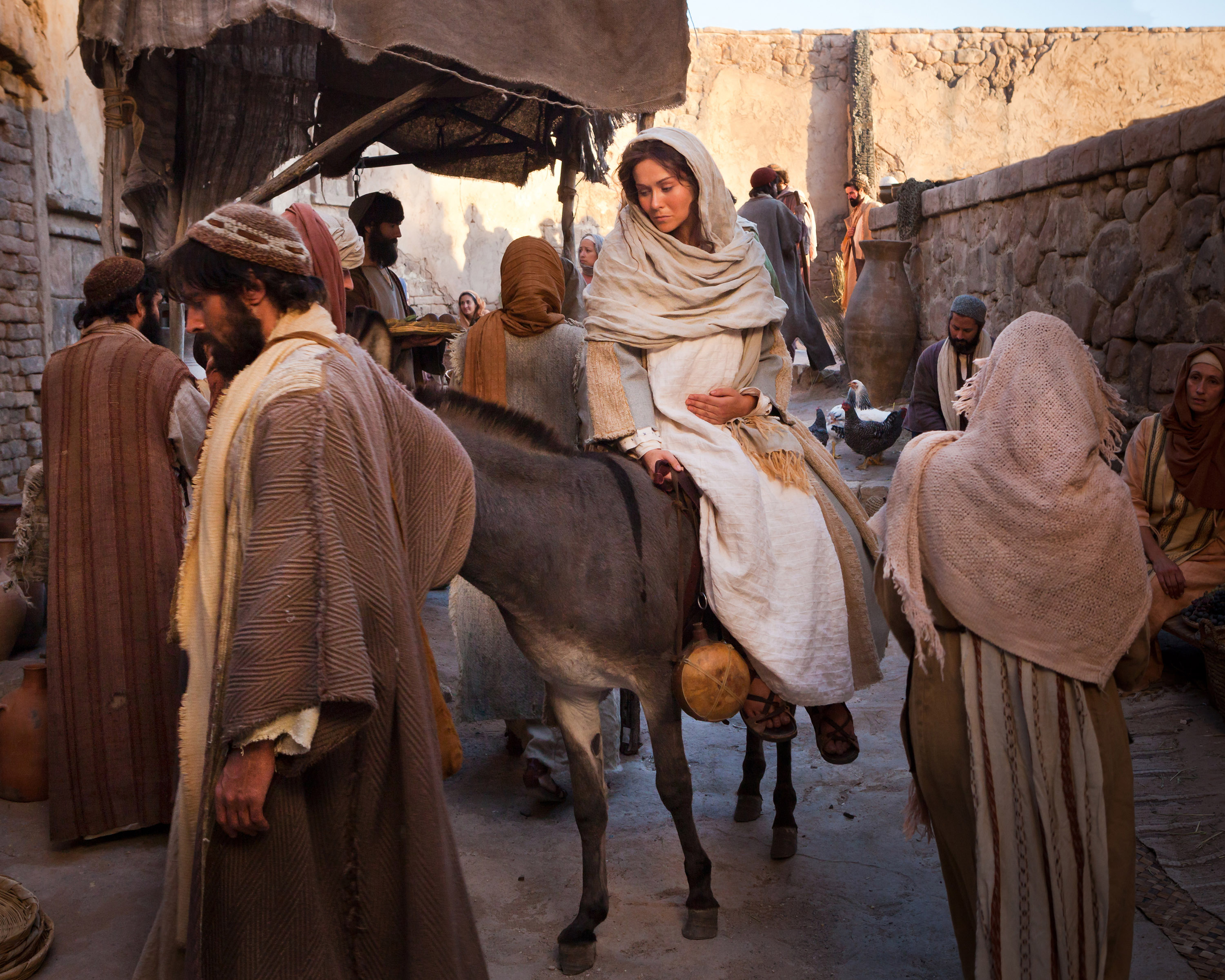 How to Make Clothing for Mary and Joseph