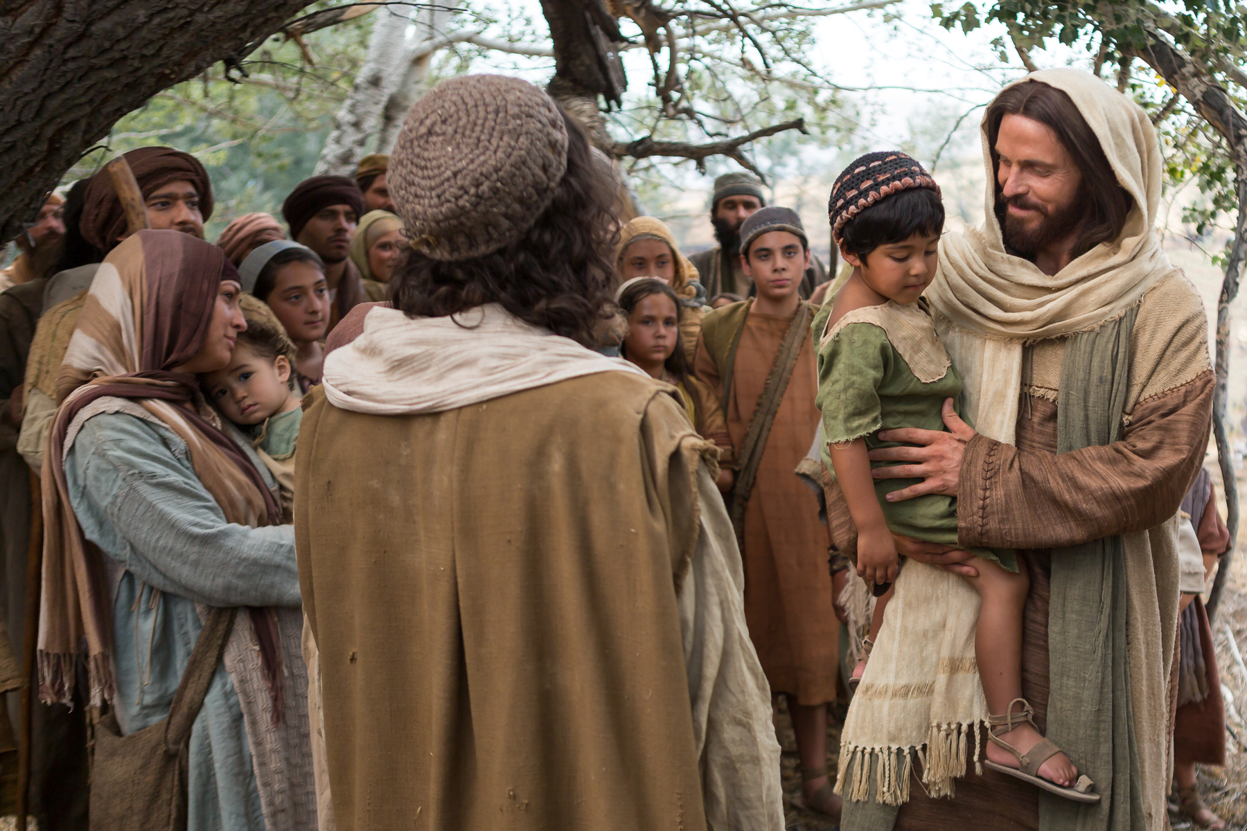 Image result for Jesus with little children
