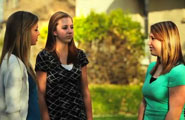 LDS young women talking