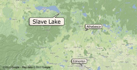 Slave Lake Alberta Canada Map Fires Ravage Slave Lake, Alberta, Canada   Church News and Events