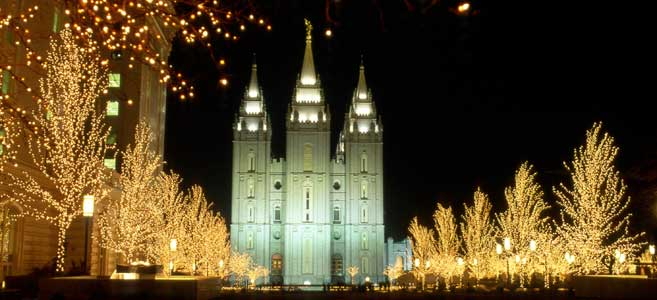 2010 Lights on Temple Square - Church News and Events
