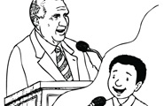 Coloring pages for President monson coloring page