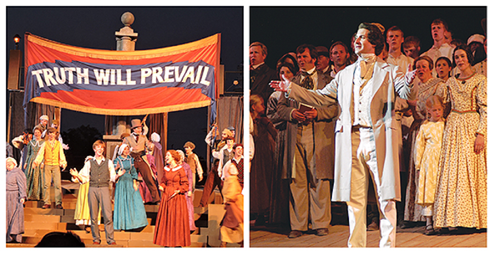 Nauvoo Pageant and British Pageant - Church News and Events