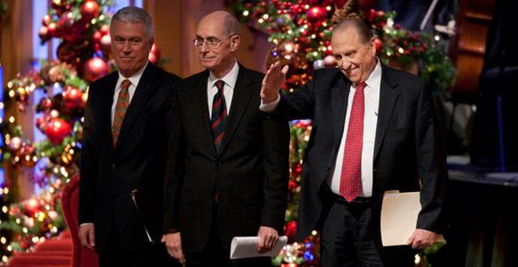 Lds Christmas Devotional.First Presidency Christmas Devotional Broadcast Set For