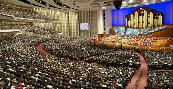 Oh, and General Conference is Being Held Too