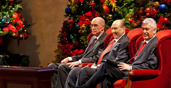 Lds 2020 Christmas Devotional Watch the First Presidency Christmas Devotional Broadcast   Church