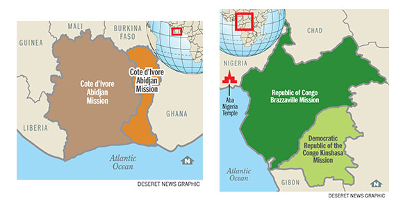lds church adds two new missions in africa church news and events