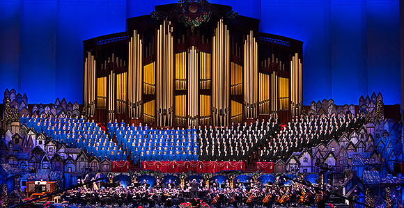 Christmas with the Mormon Tabernacle Choir and Orchestra at Temple ...