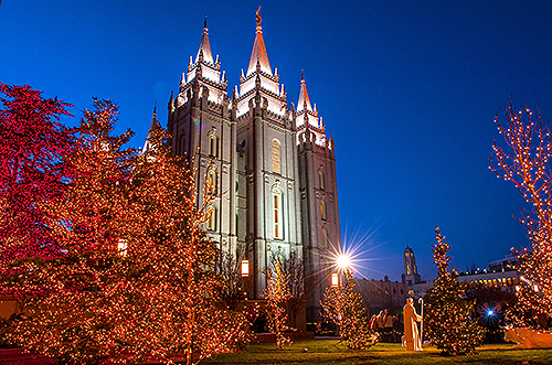 2014 Temple Square Christmas Lights and Concert Series - Church ...