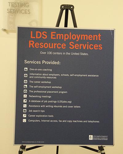 Lds Employment Services Resume
