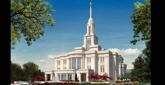 Delightful Payson Utah Temple Open House And Dedication