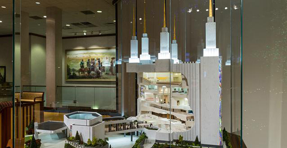 Model Of Washington DC Temple Interior On Display At