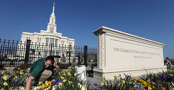 Elder Kent F. Richards Speaks During The Media Briefing And Tour Of The  Payson Utah Temple Tuesday, April 21, 2015. Photo By Ravell Call, Deseret  News.