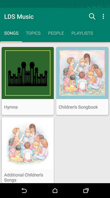 LDS Music App Now Available for Android - Church News and Events