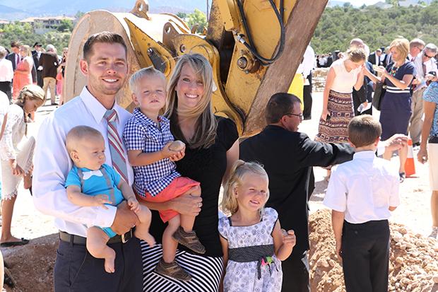 Ground Broken For Cedar City Utah Temple Church News And Events