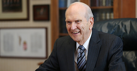 President Nelson Reflects on Being an Apostle of the Lord