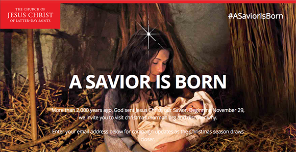 "Watch and Share Church's New Christmas Video, ""A Savior Is Born ..."