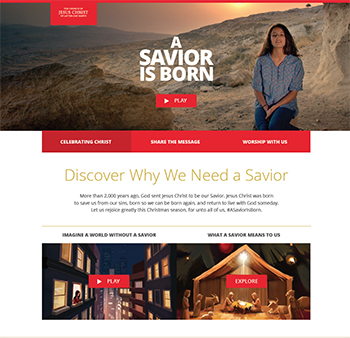 """Watch and Share Church's New Christmas Video, """"A Savior Is Born ..."""