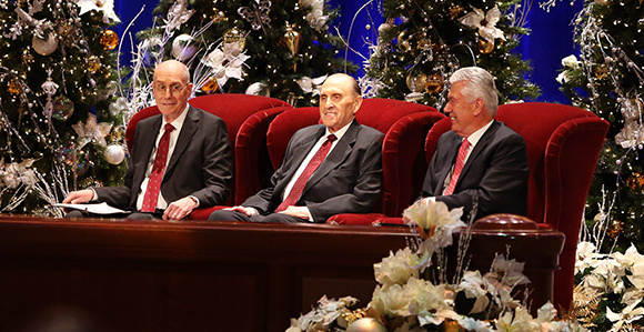 2019 Christmas Devotional Lds 2017 First Presidency's Christmas Devotional   Church News and Events