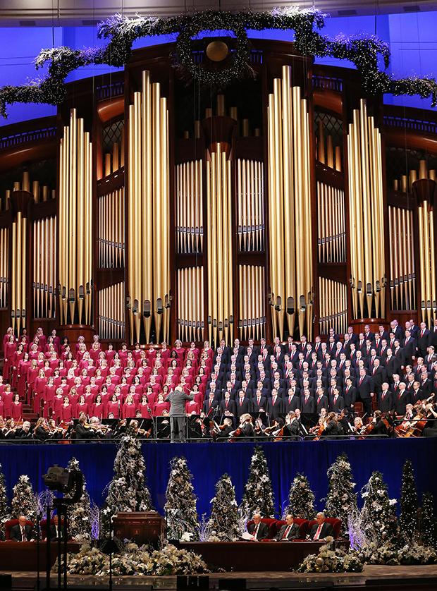 Lds Christmas Devotional.First Presidency S Christmas Devotional Begins Season For
