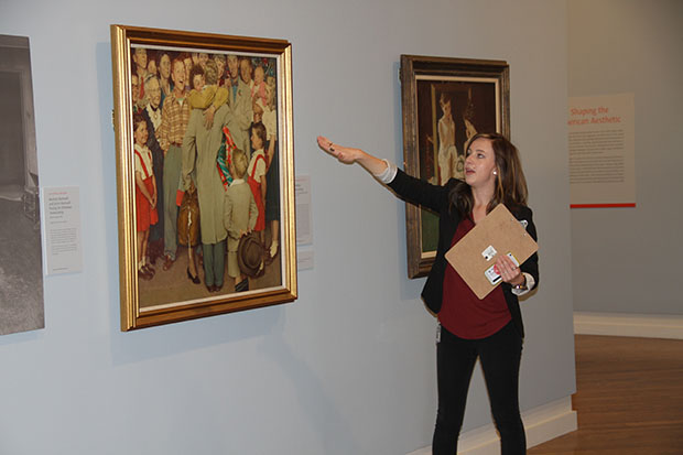 Christmas Homecoming Rockwell.Diverse Norman Rockwell Exhibition Opens At Byu Church