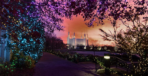 visitors to the washington dc temple grounds enjoy christmas lights musical performances and nativity scenes as part of the annual festival of lights - Dc Christmas Lights
