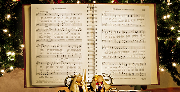 Lds Christmas Hymns.Christmas Memory To Hear The Angels Sing Church News