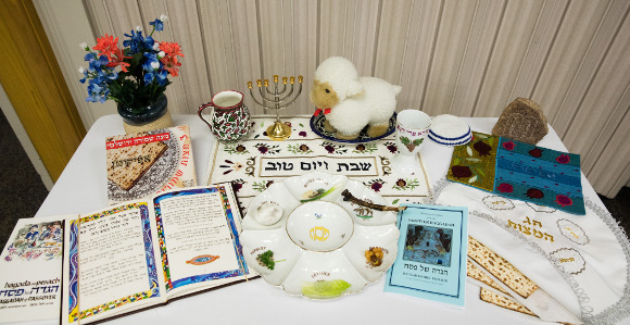 Prayers, Scriptures Shared at BYU's Annual Passover Seder