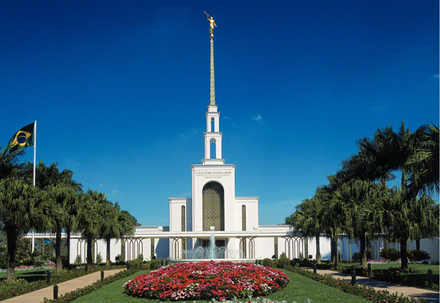 the sao paulo brazil temple south america s first lds temple was dedicated on october 30 1978