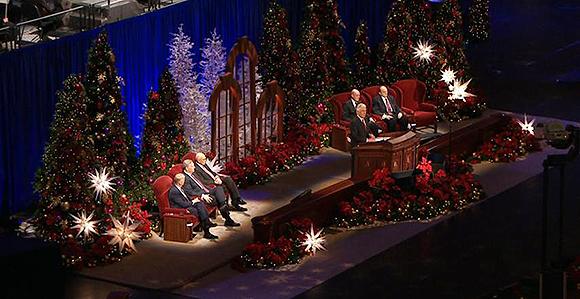 Lds Prophet Christmas Devotional 2020 Messages of Peace, Love, Joy Mark 2016 First Presidency's