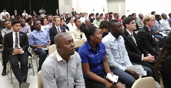 lds chileans befriend serve new haitian neighbors church news and