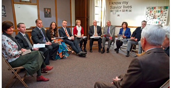 Melchizedek Priesthood  Mormon Elders Meeting