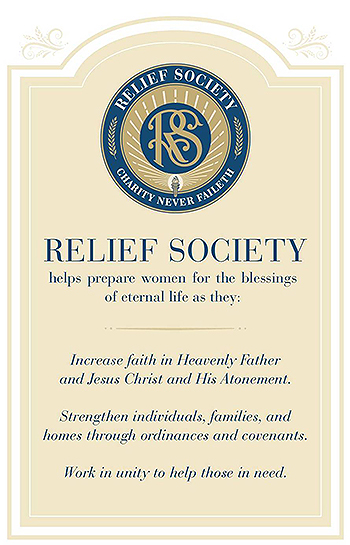 image about Relief Society Declaration Printable referred to as Sister Burton Announces Upgrades in direction of LDS Aid Culture