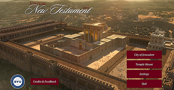 Visit Jesus's Jerusalem with Virtual New Testament App